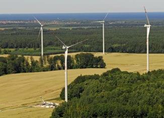 Farma wiatrowa w Wicku