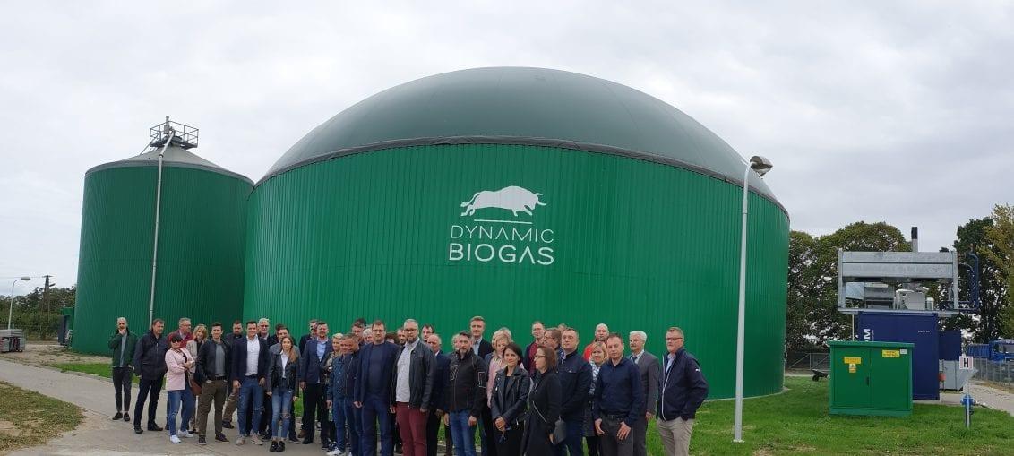 Zwiedzanie biogazowni