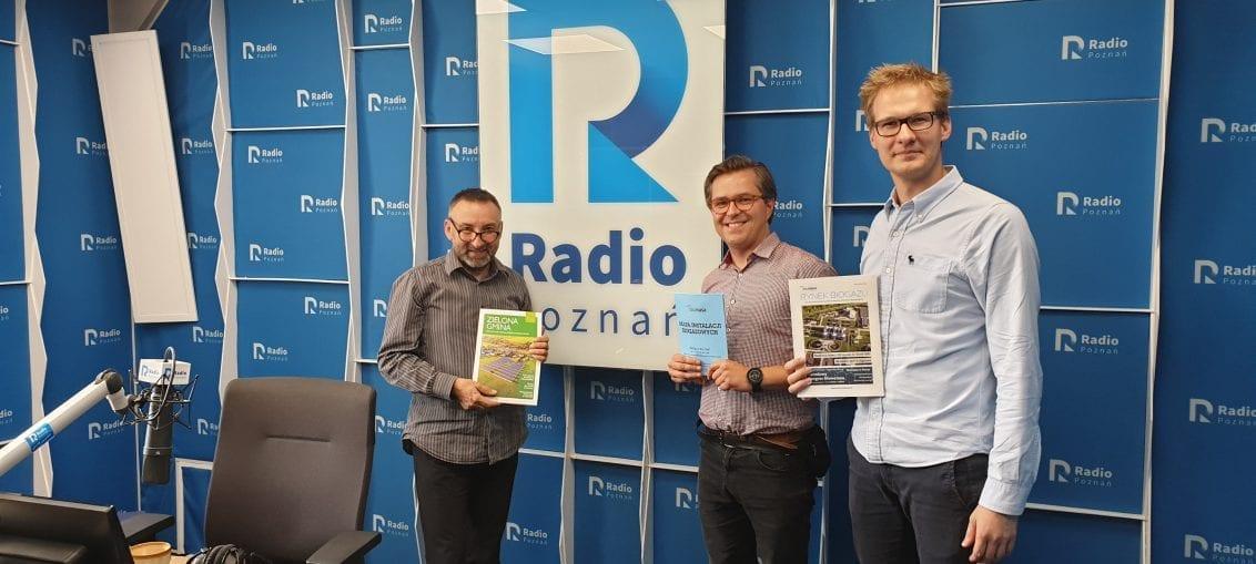 Biometan na antenie Radia Poznań