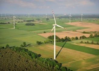 Farma wiatrowa w Margoninie