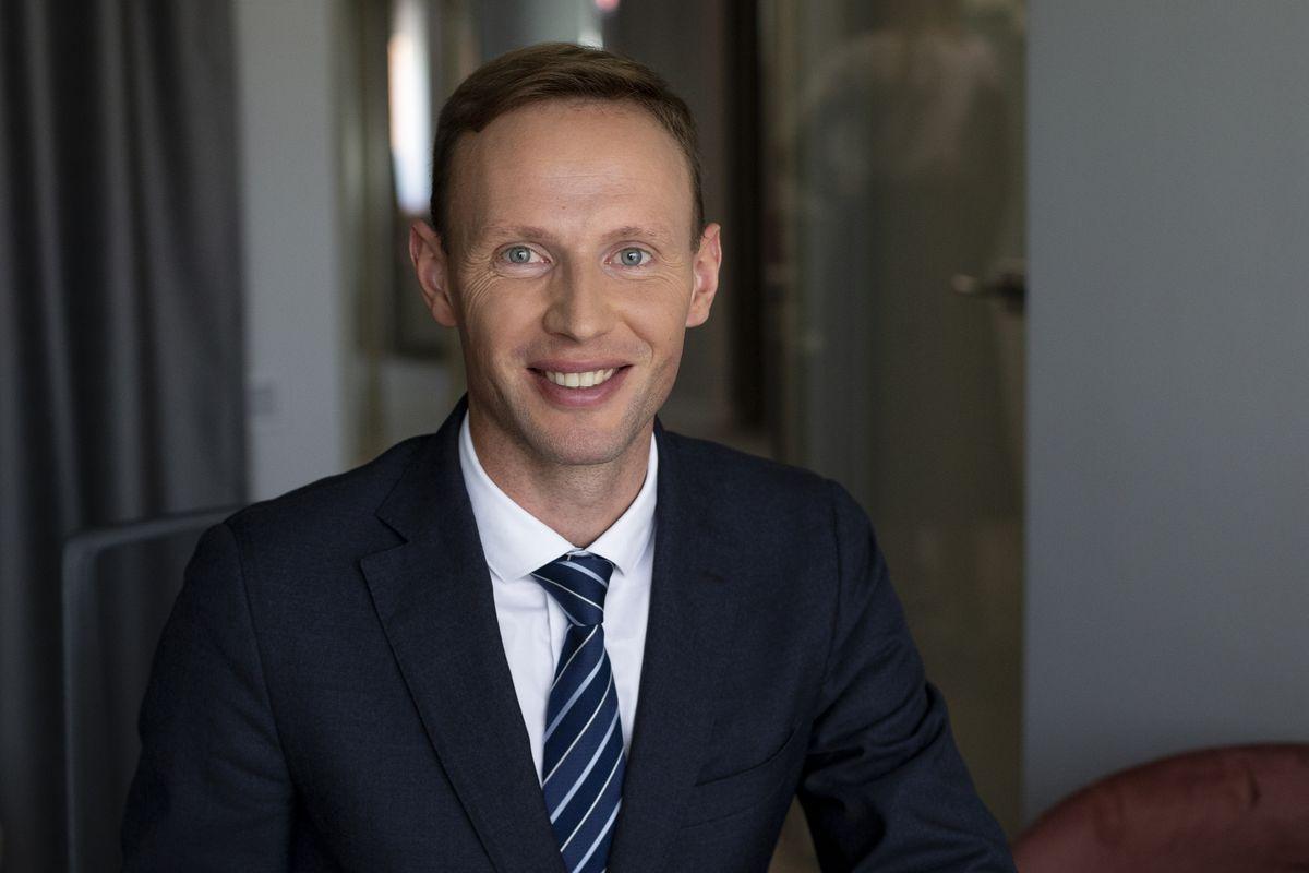 Andrius Smaliukas, prezes zarządu Baltpool