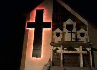 Fotowoltaiczny krzyż