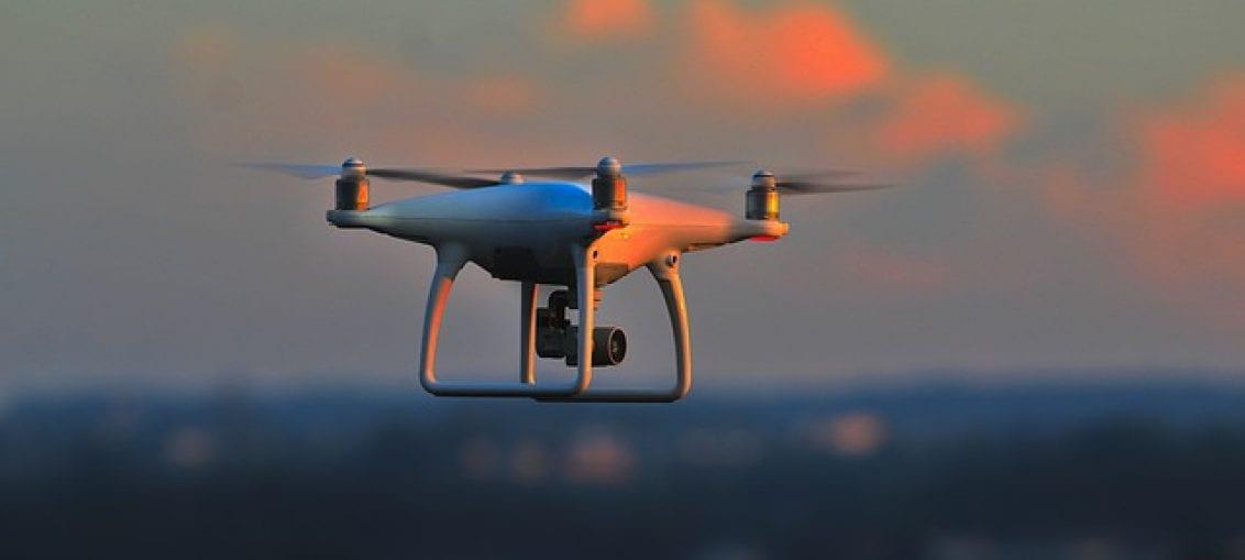 dron zasilany wodorem