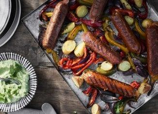 wegańska kiełbasa na grilla
