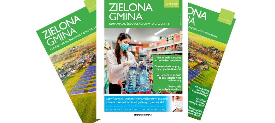 Zielona Gmina - kwiecień 2020