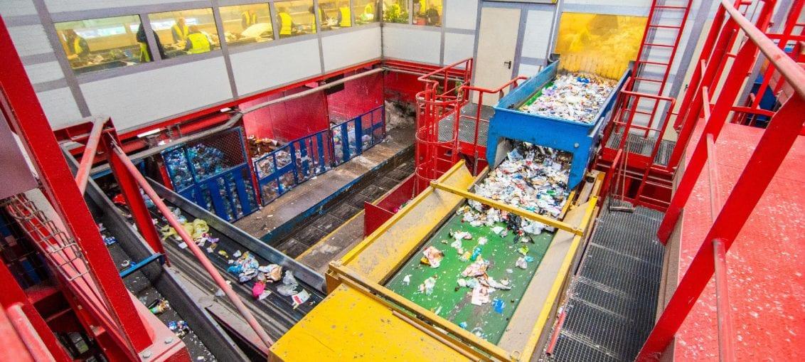Sortownia odpadów w Bydgoszczy