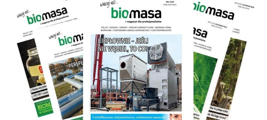 Magazyn Biomasa - maj 2020