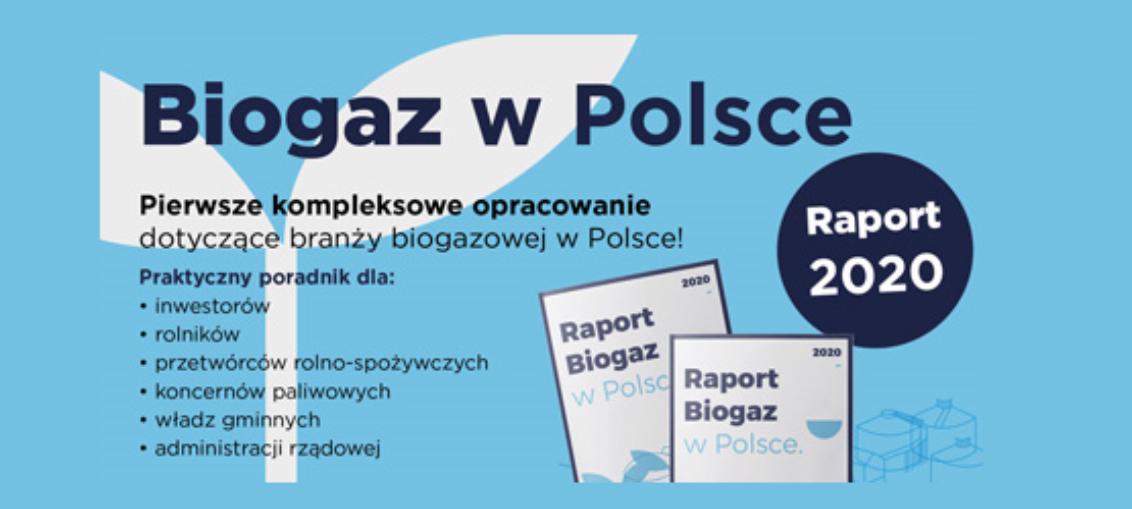 Biogaz w Polsce - raport 2020