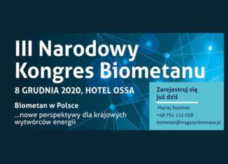 Narodowy Kongres Biometanu 2020