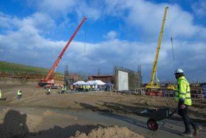 Plac budowy zakładu termicznego przekształcania odpadów. Fot. Port Czystej Energii