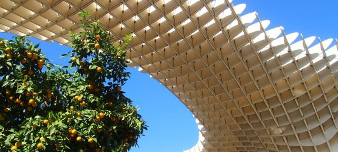 Sewilla biogaz pomarańcze