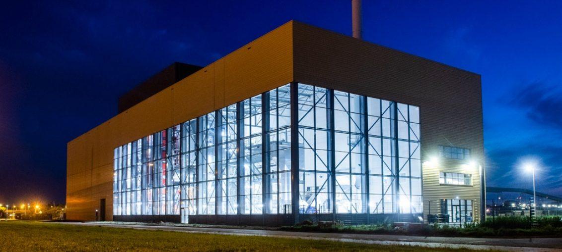 Elektrociepłownia w Amsterdamie zrealizowana przez VYNCKE
