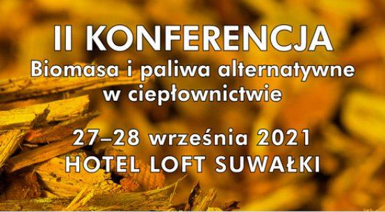 Konferencja biomasa w ciepłownictwie
