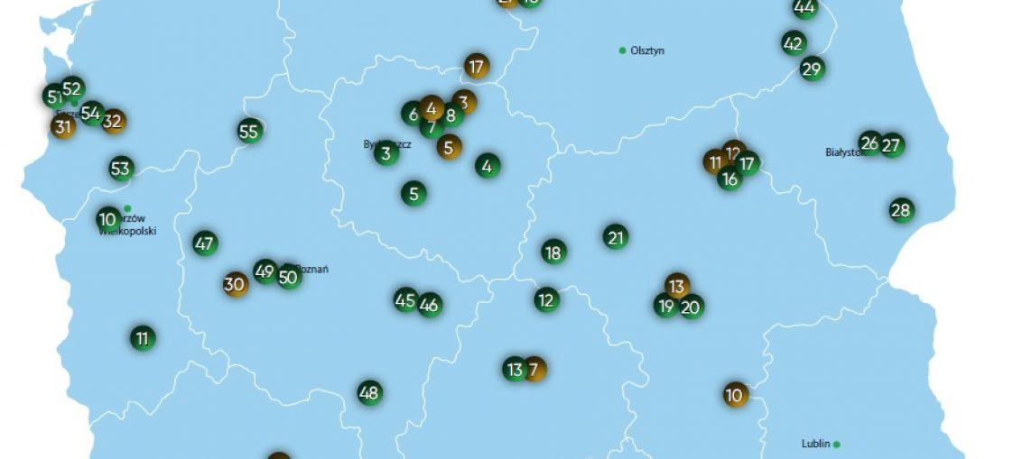 mapa instalacji biomasowych